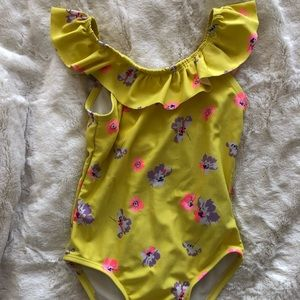 Toddler Floral Swimsuit